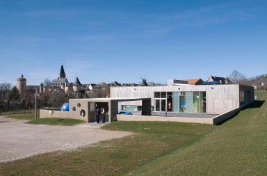 Architecture de l'école de Bournazel