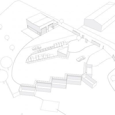 architecture-dechetterie-la-fouillade-axonometrie