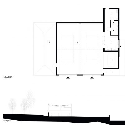 architecture-dechetterie-la-fouillade-plan-legende