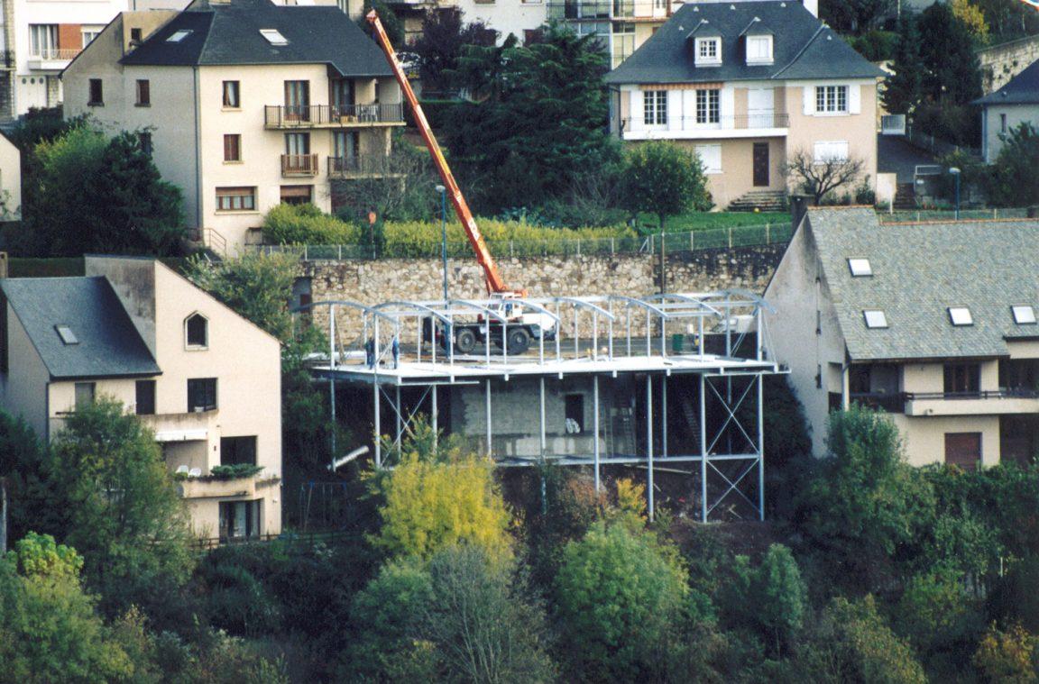 Maison Architecte Construite Pente Pilotis 5