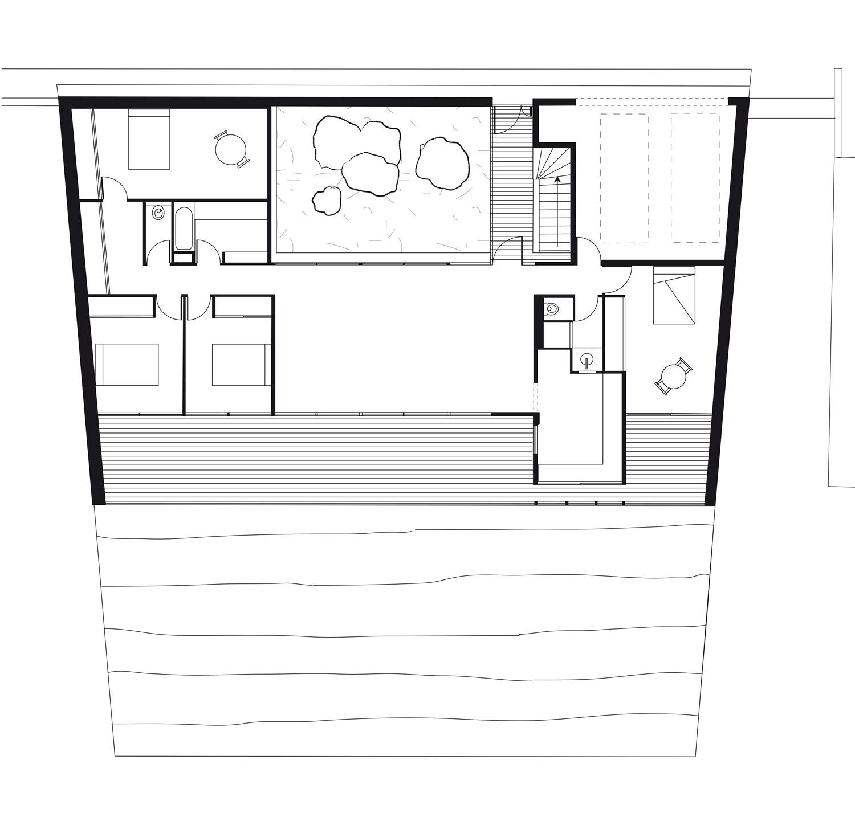 Très Une maison construite dans la pente sur pilotis | Architecture Aveyron QL73