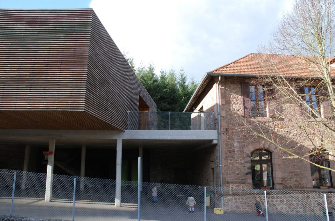 Architecture ecole aveyron auzits 15 architecture aveyron - Cours de cuisine aveyron ...