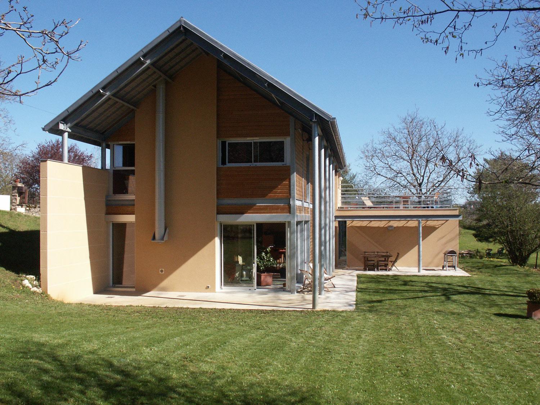 Maison architecte bois maison moderne for Architecte maison bois