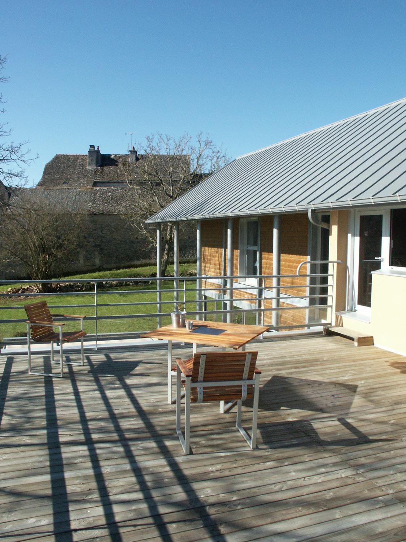 Maison architecte bois maison moderne - Architecture bioclimatique definition ...