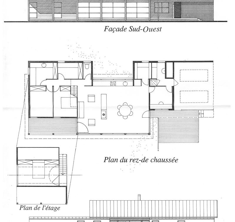 Plan De Maison Architecte Top With Plan De Maison Architecte