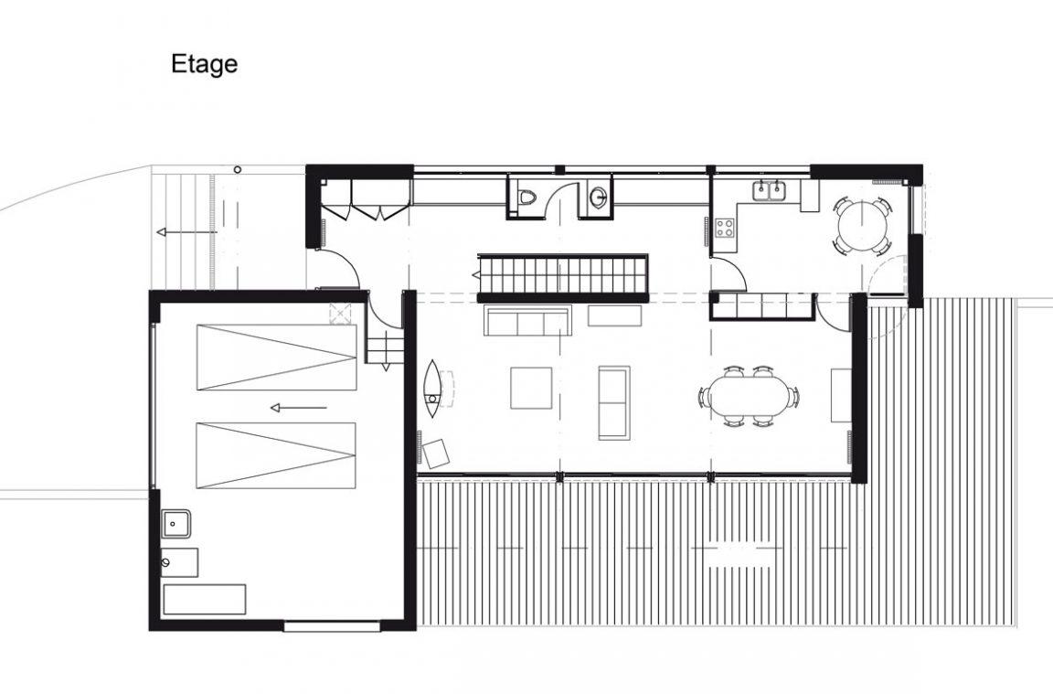 Plan Maison Architecte Habitation Dans Les Arbres Le
