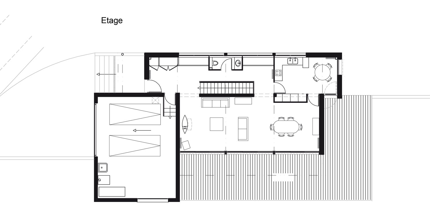 Simple with architecte plan maison for Plan maison 2016