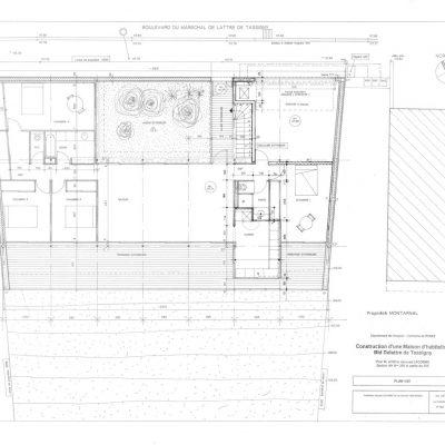 plan-maison-architecte-pilotis-pente