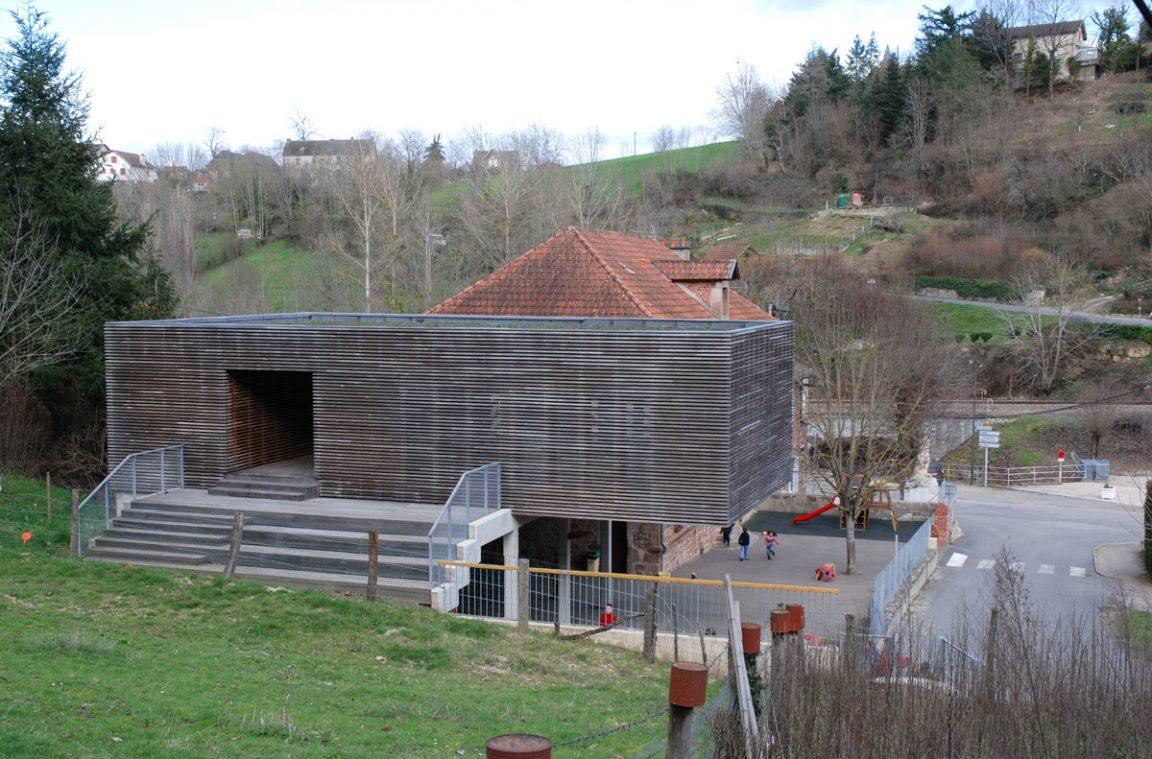 Architecture ecole aveyron auzits 4 architecture aveyron - Cours de cuisine aveyron ...