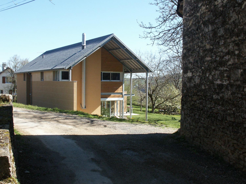 Maison architecte bois good maison maison ancien grange for Architecte maison bois