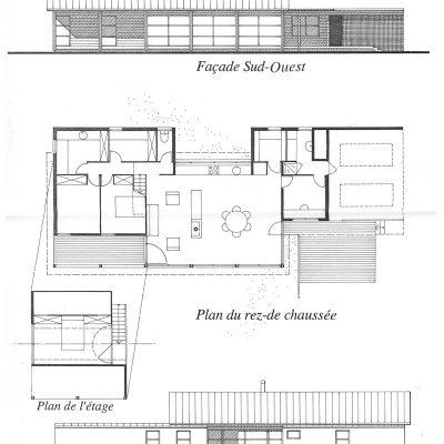 Une Maison Au Bord De La Valle  Architecture Aveyron