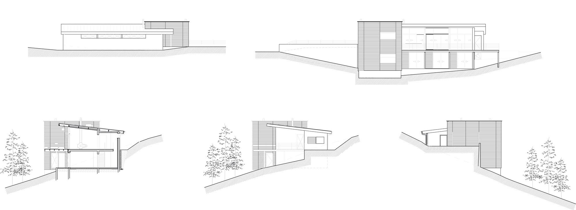 plan de maison dans un arbre