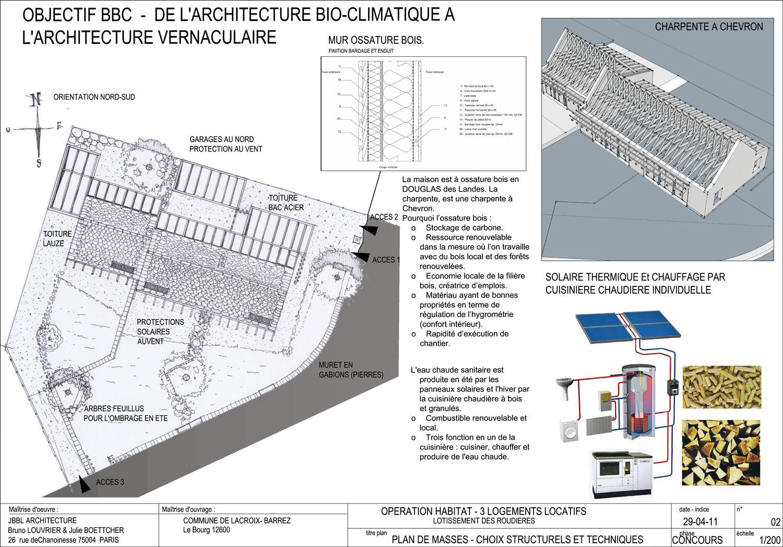 Julie Chabassier Architecte D Intérieur logements communaux à lacroix barrez | architecture aveyron