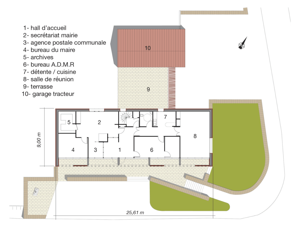 architecture-aveyron-maison-castelnau-pegayrol-plan-niveau