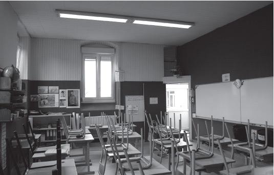 La salle de classe d'origine